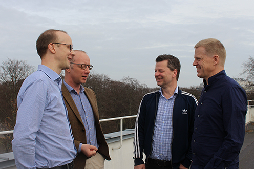 Thorup, Alstrup, Pagh, Hudfeldt