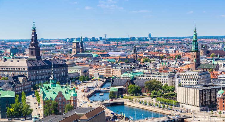 Copenhagen from above